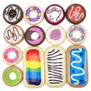 Brybelly Baker's Dozen Wooden Donuts