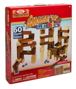 Brybelly 60 Piece Amaze N' Marbles Classic Wood Construction Set