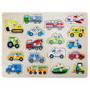Brybelly Jumbo People Movers Peg Puzzle