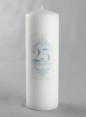 Jamie Lynn 25th Anniversary Pillar Candle
