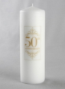Beverly Clark 50th Anniversary Pillar Candle