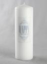 Beverly Clark Happy Anniversary Pillar Candle