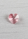 Ivy Lane Design Heart Charm, Light Rose