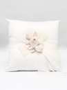 Amour Ring Pillow, White