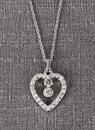 Ivy Lane Design Flower Girl Heart Necklace