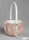 Ivy Lane Design Elsa Matte Sequin Flower Girl Basket