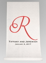 Ivy Lane Design A91552 Single Initial, Names and Date Aisle Runner