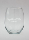 Ivy Lane Design Names and Date Engraved Glass