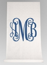 Ivy Lane Design Monogram Aisle Runner
