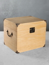 Ivy Lane Design Card Box Plywood Solid Top Light Stain