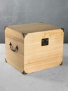 Ivy Lane Design Card Box Paulownia Solid Top  Light Stain