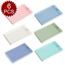 Officeship 6 Colorful Premium Quality Business ID Badge Card Holder