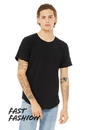 Bella+Canvas 3003 Mens Jersey Short Sleeve Tee With Curved Hem