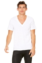 Bella+Canvas 3105 Unisex Jersey Short Sleeve Deep V-Neck Tee
