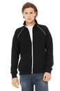 Bella+Canvas 3710 Men's Piped Fleece Jacket