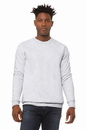 Bella+Canvas 3901 Unisex Sponge Fleece Raglan Sweatshirt