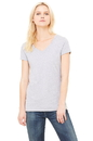 Bella+Canvas 6005 Women's Jersey Short Sleeve V-Neck Tee