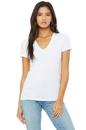 Bella+Canvas 6035 Women's Jersey Short Sleeve Deep V-Neck Tee
