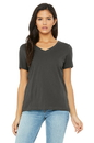Bella+Canvas 6405 Women's Relaxed Jersey Short Sleeve V-Neck Tee