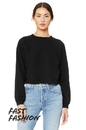 Bella+Canvas 7505 Women's Raglan Pullover Fleece
