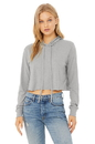Bella+Canvas 8512 Women's Cropped Triblend Hoodie