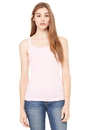 Bella+Canvas 8711 Women's Sheer Mini Rib Thin Strap Tank