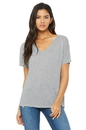 Bella+Canvas 8815 Women's Slouchy V-Neck Tee