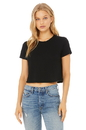 Bella+Canvas 8882 Women's Flowy Cropped Tee