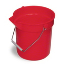 Continental Huskee Bucket w/Pouring Spout - 10 Qt., Red