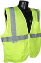 Bellingham Glove SV2ZGMM Class 2 Vest Mesh With Zipper, Green, Medium