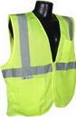 Bellingham Glove SV2ZGM2X Class 2 Vest Mesh With Zipper, Green, 2Xl