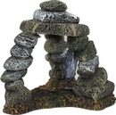 Blue Ribbon Pet Products EE-5658 Exotic Environments Triple Pebble Archway, Medium