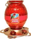 Classic Brands Gem Glass Hummingbird Feeder