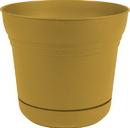 Bloem SP1223 Saturn Planter, Earthy Yellow, 12 Inch