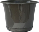 Bloem EP08908 Expressions Planter, Charcoal, 8 Inch