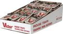 Woodstream Victor Metal Pedal Mouse Trap Bulk - 72 Piece