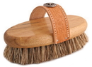 Desert Equestrian Legends Union Harvester Western Grooming Brush - Tan - 8 Inch