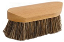 Desert Equestrian Legends Showtime Union Grooming Brush - Brown - 6.375 Inch