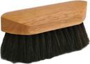 Desert Equestrian Legends Choctaw Pocket-Size Body Grooming Brush - Black - 6.375 Inch