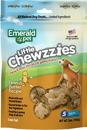 Emerald Pet Products 00489-CZPB Emerald Pet Little Chewzzies Dog Treats, Peanut Butter, 5 Oz