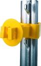 Dare Snug Extra Length T-Post Insulator - Yellow - 25 Pack