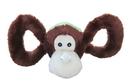 Jolly Pets Tug-A-Mals Monkey - Brown - Medium