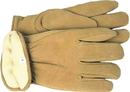 Boss Therm Insulated Split Deerskin Driver Glove - Yellow - Medium