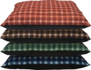 Dallas Manufacturing Co. 100531199 Cozy Pet Kennel Bed, Plaid Assorted, 35In X 44In
