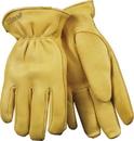 Kinetic Technologies Lined Grain Deerskin Glove - Tan - Medium
