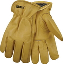 Kinco International Lined Grain Cowhide Glove - Tan - Large