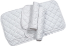 Imported Horse &Supply Quilted Leg Wrap For Horses - White - 14 Inch/4 Pack