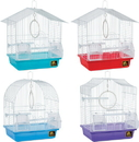 Prevue Parakeet Economy Cage - Assorted - 11X8X13/9 Pack