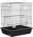 Prevue Pet Square Roof Parakeet/Cockatiel Cage - Assorted - Parakeet/2 Pack