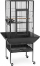 Prevue Pet Products 3351BLK Prevue Park Plaza Bird Cage, Black, 18X18X49 Inch